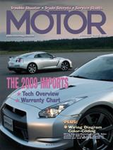 Motor Magazine - Cover Dec. 08